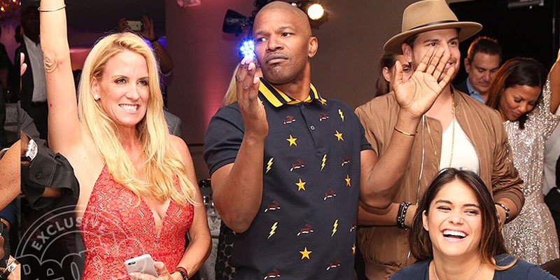 Jamie Foxx is the life of the party at gala for friend DJ Irie's charity weekend: See pics!