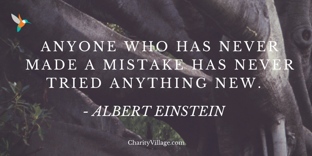 """Anyone who has never made a mistake has never tried anything new."" ~ Albert Einstein https://t.co/Q8RUY5Sck2"