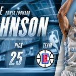 Congrats to Brice Johnson, now of the @LAClippers! #UNCBBall #NBADraft #NBATarHeels https://t.co/LpyTP9naU6 https://t.co/GVIbqxzokE