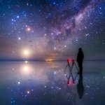 一番気に入っている自撮り写真です。 (梅雨空なので過去の写真から、南米ウユニ塩湖にて撮影) https://t.co/uUZHZHVm1l
