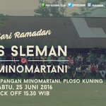Revisi nama lawan #SafariRamadanPSS besok. PSS v PS Minomartani. https://t.co/YQC3Z1OnoM
