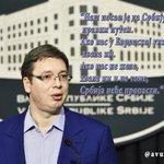 """Александар #Vucic: """"Наш посао је да #Srbiju водимо правим путем."""" #KZN https://t.co/9q55oc5KYZ"""