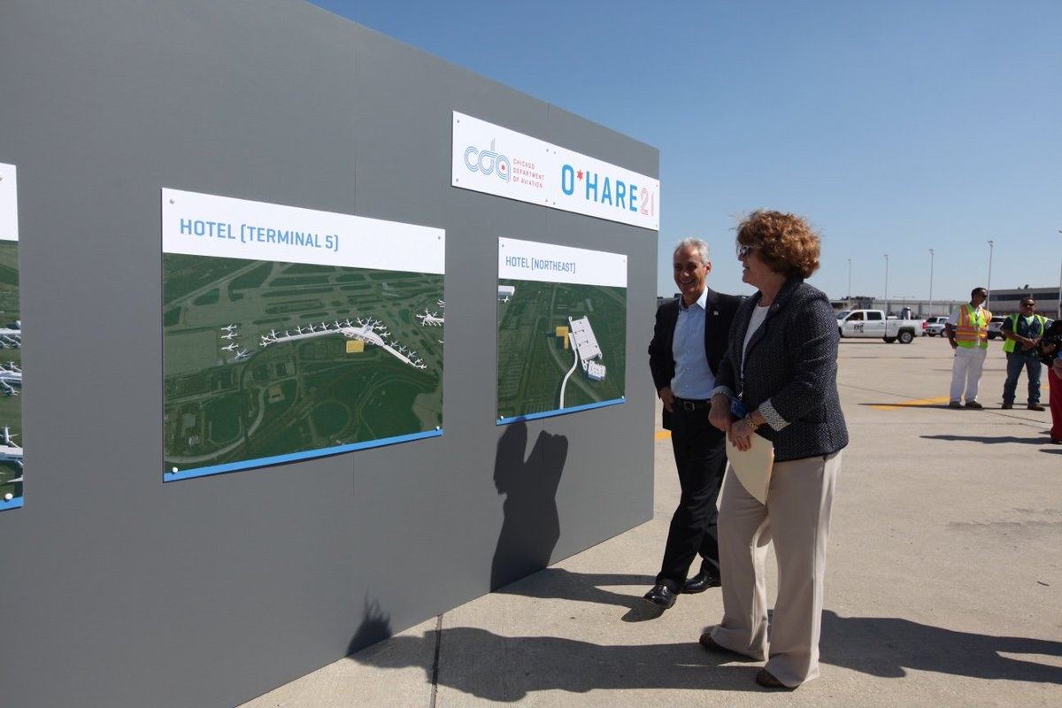 RT @ChicagosMayor: More hotels, jobs, and economic opportunities are coming to @fly2ohare!