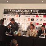Pronto para comenzar la conferencia de prensa de la despedida del Tony Pacheco. Acompañan Morena y Ruggeri https://t.co/orC2p2cZOY