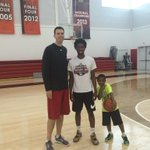 Taveion Hollingsworth (@Lil_Tay3) with Coach Padgett at Louisville today!! https://t.co/3r1bYOH7Nx