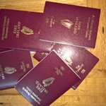 Last of the passports found for trip to Newry today!! @OfficialLDGAA V @OfficialDownGAA at 2pm #qualifiers #Brexit https://t.co/3uTwa2TFqH