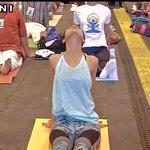Madrid (Spain): Shilpa Shetty holds #IIFA2016 Stomp Yoga Masterclass #IIFARocks https://t.co/XD412zqKDS