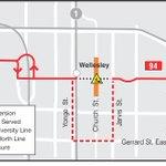#TTC 94 Wellesley: Buses detour via Jarvis, College and Yonge all day for #Pride2016 events https://t.co/nh5sST3kr1 https://t.co/6MRK0lWHi2