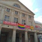 Wir sind heute auf dem #CSD in Weimar. Schöne sommerliche Grüße für Gleichstellung. https://t.co/7KXX8xAgsR