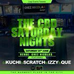#TheCBDSaturdayNights #ChezNicolas jammin with @djkuchi @DJScratchBW and #Cue come have a party!!! #NijelAmosOfDJing https://t.co/IuYn2CtkKZ