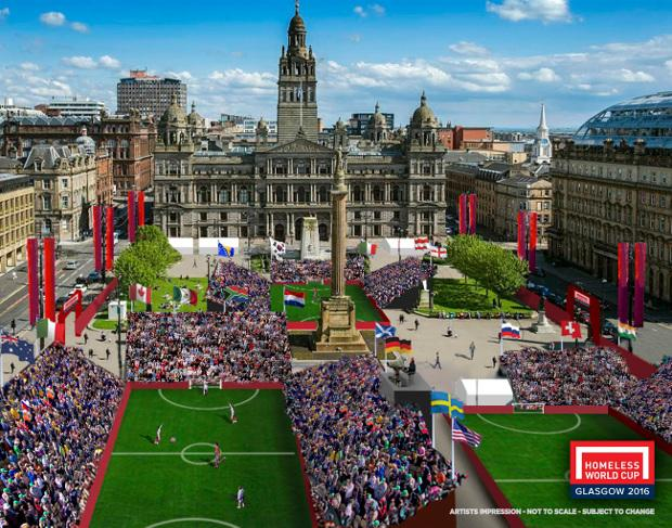 RT @BigIssueScots: Tomorrow, the Homeless World Cup kicks off in Glasgow for the very first time