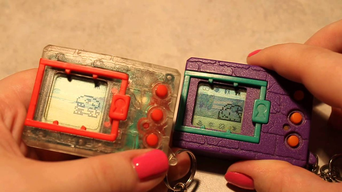 All the Pokemon Go talk reminded me of those old Digimon virtual pet toys. Bring 'em back! https://t.co/by4Rp2X4QF