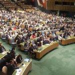 Con votos 183, Bolivia es miembro no permanente del Consejo de Seguridad de la ONU 2017-2018 Vía @SachaLlorenti https://t.co/fJvi2TJJgh