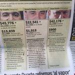 Más claro ni el agua: el desfalco disfrazado de deuda de Javier Duarte, Roberto Borge y César Duarte. @Reforma https://t.co/11Vnaj0bki