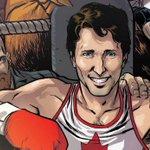 Justin Trudeau en personnage de bande dessinée? https://t.co/7gO4JjrU7U https://t.co/FyUgNEjDGt