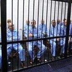 Alto Mando Militar d Muamar Gadafi. Nunca creyeron q la justicia les llegaría. Mirense en ese espejo FANB Chavista https://t.co/j64wneojCz
