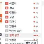 """블랙핑크"" (BLACKPINK) trended as 8th on NATE real-time searched keyword: #BLACKPINK #블랙핑크 ???????????? Via.chaeyyg https://t.co/BoJ3WceecA"