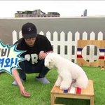 [GIF/VOD] V Live เบื้องหลังก่อนถ่ายทำ เซฮุนฝึกวีวี่ก่อนเข้ารายการจริง แต่วีวี่ก็ไม่ทำตามค่ะ เซฮุนเหนื่อยเลย ㅋ https://t.co/AUaAwci2rq