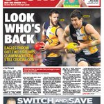 The back page of tomorrows @westaustralian #perthnews https://t.co/wrJnbSNvlj