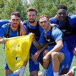 #PoshPreSeason | The winning team in todays mini game out in Portugal https://t.co/OTWukdEOj3