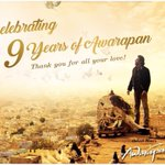 9 years of #Awarapan! A film that I hold very close to my heart... Thanks for the love! https://t.co/ZJMhvMg1kz