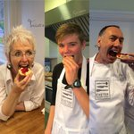 What an incredible day with @cookinexeter! 240 scones ready for #DevonsBigCreamTea! @Devon_Hour @Attention_Media https://t.co/zZ0FkSs8EU