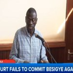 """It is not fair to detain people and then look for the case,"" Besigye during his court appearance today. #LiveAt9 https://t.co/Wk3OnHLiVq"