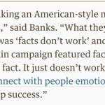 "Leave campaigns biggest donor says ""facts dont work"" and they took an American approach #EUref https://t.co/5hodbXkDRw"