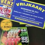 #Zaterdagaktie Bestel zaterdag 02.07.2016 de Sensation de Luxe box (€37,50) &ontvang 4 #Vrijkaarten voor @circusrenz https://t.co/WPT75Cb0D2