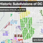 Map: In 1919 D.C. residents lived in neighborhoods called Cuckolds Delight and Butts Land https://t.co/y9d8IRQa6j https://t.co/MLwFOqs3TC