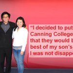 Read what students parents are saying about Canning College. https://t.co/LHtWcYREyB #StudyAbroad #Perth #Education https://t.co/FWexdqoBXm