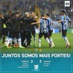 Com gols de Giuliano, Douglas e Marcelo Hermes, vencemos e seguimos fortes no #Brasileirão2016! #GRExSAN https://t.co/0QDWc6ZDcn