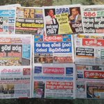 32nd #UNHRC session on #lka : Major gap in reportage between Sinhala and Tamil newspapers #HRC32 https://t.co/JDm1RMFWWo