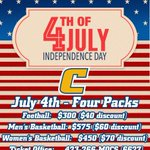 3 teams, 3 titles. Ck out these deals available next week! #GoMocs #CheerLocal  https://t.co/DhefZDOP7o https://t.co/snRHp8anM3