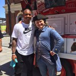 Were seeing double - @celtics Isaiah Thomas with #FreedomTrails #IsaiahThomas at Faneuil Hall! https://t.co/IyPjDGAjK9