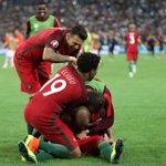 Time to celebrate for @07RQuaresma and @selecaoportugal ???? #EURO2016 https://t.co/eOu6AiDuDI