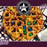 What is your favourite Waffle combo? Why not try our M&M waffle #Southend #ChocolateWaffle #Dessert https://t.co/VRjILyJq8Z