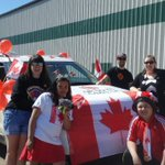 Happy Canada Day from @CBCNorth in #Iqaluit! We won the Best Canada Spirit in the parade. https://t.co/Tq2GdHWEJW