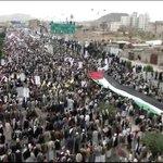 صور من المظاهرة الحاشدة في صنعاء التي خرجت اليوم في مناسبة #يوم_القدس_العالمي #اليمن https://t.co/eM7tSpd3vM