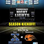 Our first game of the Thursday Night Lights season will be Xenia at Beavercreek https://t.co/LBPCHC7LYF