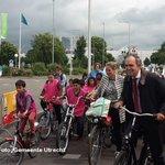 Utrecht markeert tijdritparcours Tour de France https://t.co/0LavPUqyzQ #utrecht #TDFUtrecht #drvu https://t.co/3LGpS5xzGB