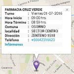 #Osorno #Farmacia de turno https://t.co/AZcnA5XzAg