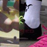 Las calcetas que sacó @Chivas hoy de puma, se parecen a las medias que vendían en el Club Guadalajara en los 80s. https://t.co/NHLxGtklMN
