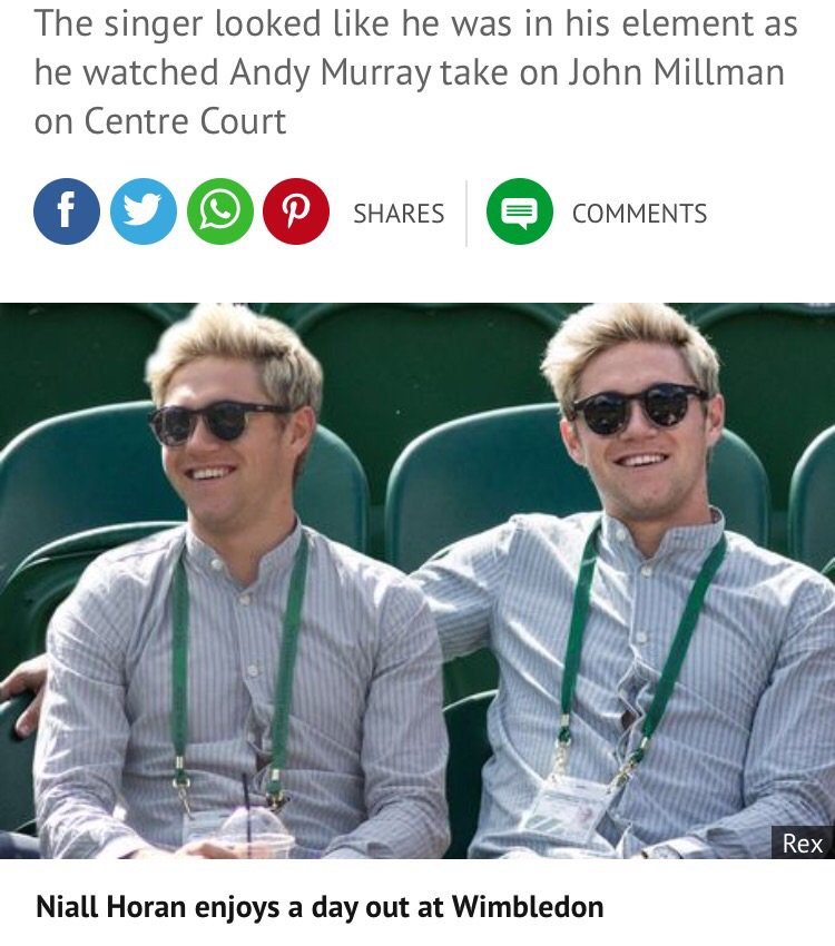 Why have @MirrorCeleb edited this so @NiallOfficial is putting his arm around himself? 2 of him make a cute couple. https://t.co/jIXMJ5wf51