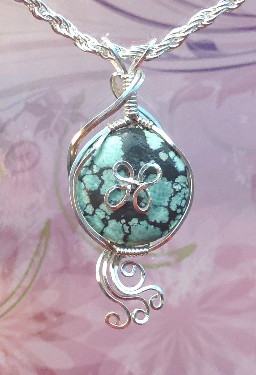 Turquoise Pendant Necklace Wire Wrapped Jewelry Handmade in Silver Wit… https://t.co/6OE41ePJp1 #vintage #hippiechic https://t.co/sunNMpu0yk
