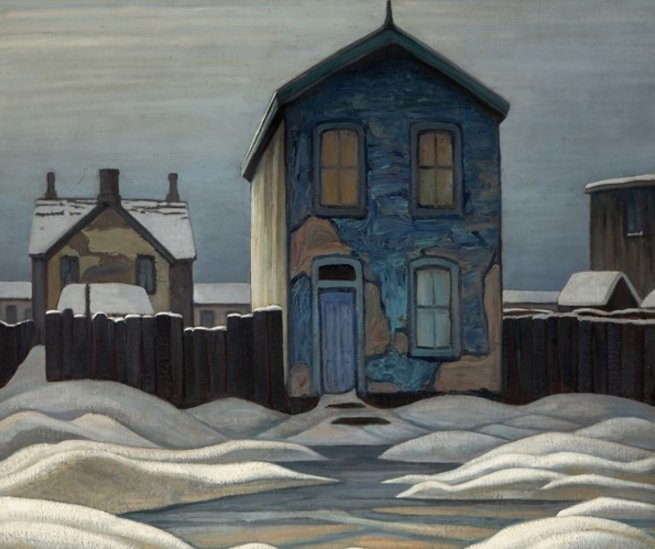 Thrilled to have our Lawren Harris, Grey Day in Town     1923 shown as part of the #AGOHarris exhibition! https://t.co/ftbKLuaLxA