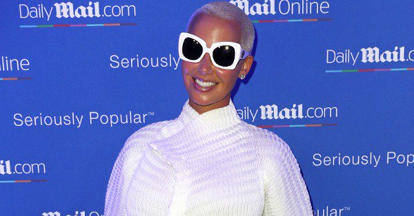 Amber Rose has one piece of advice when it comes to co-parenting: Take the high road.