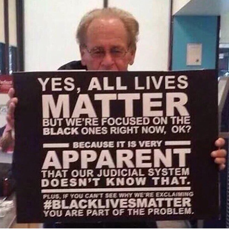#blacklivesmatter #stoppolicebrutality If you don't stand for something you will fall for anything!