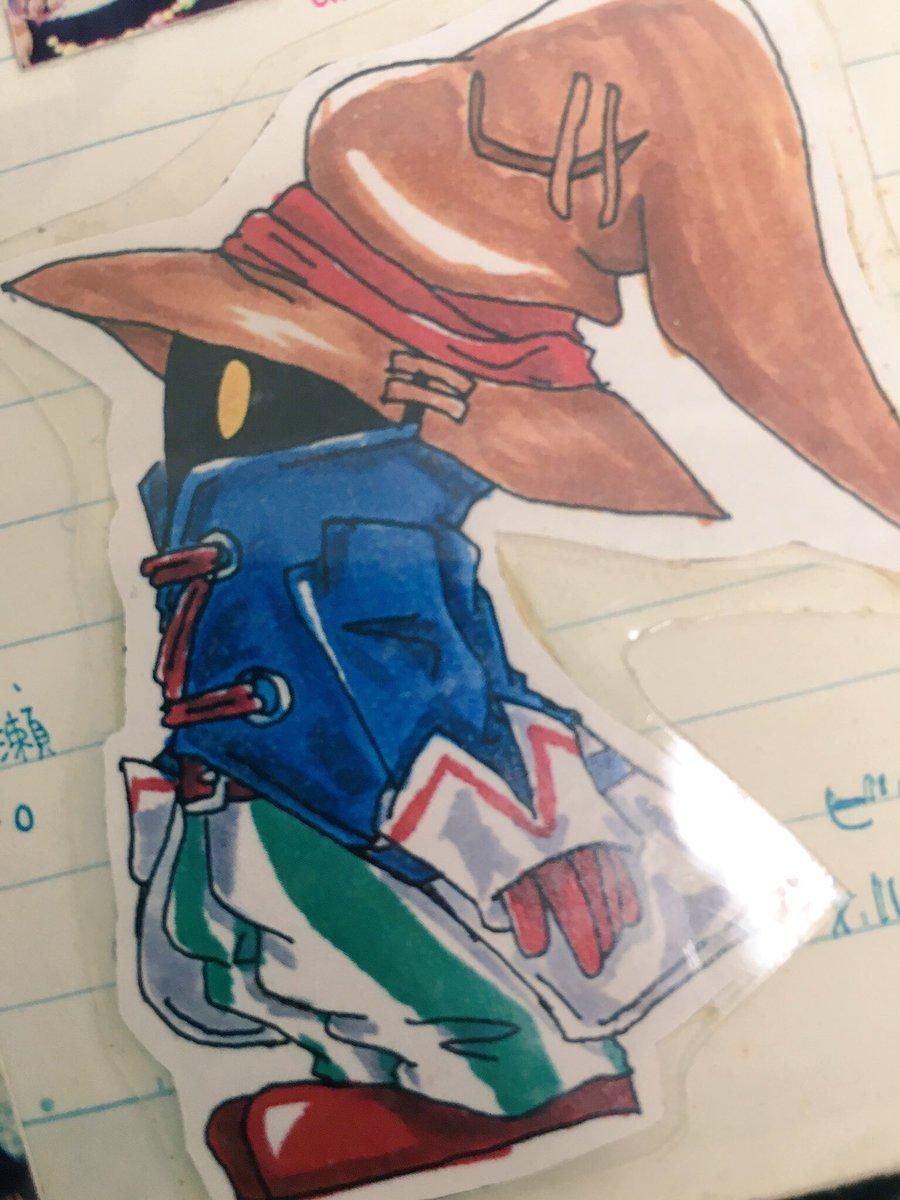 ひっそりこっそり。 個人的に一番好きなゲーム。 始めたのはブームが去った後だけど、絵も描いたり友達に描いてもらったり、いまは懐かしイベントで買ったラミカとかw #FF9祝16周年 https://t.co/Hnhisjyhbm