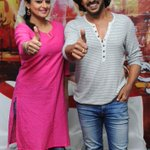 RT @cinema_tharanga: Priya Mani and Upendra celebrate the success of #Kalpana2  @priyamani6 @nimmaupendra https://t.co/pfnjrv5W3l